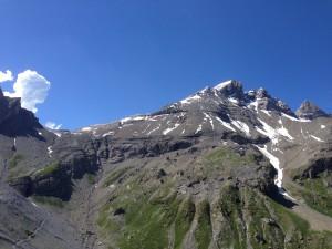 La Haute Cime et le col de Susanfe versant Salanfe