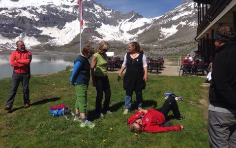 Un séminaire, un camp ou sortie à la montagne